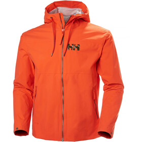Helly Hansen M's Rigging Rain Jacket Pumpkin